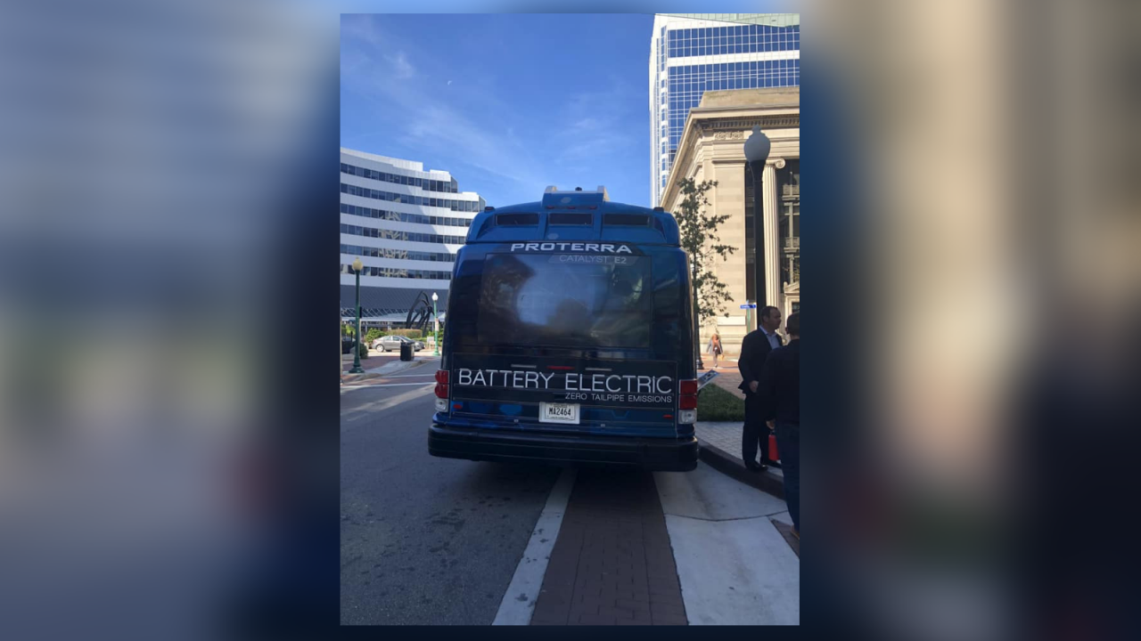 Virginia will help pay for electric public transportationbuses