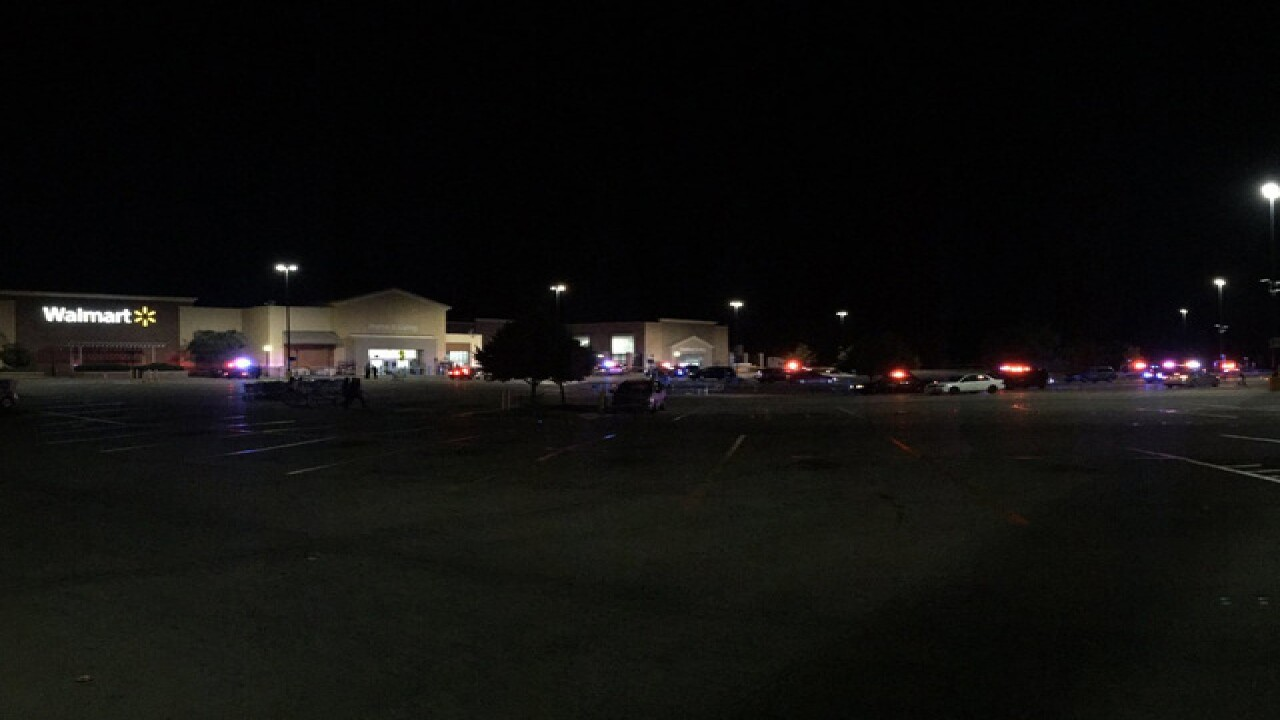 Deputy shoots, kills possible Wal-Mart thief
