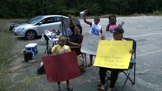 Muskegon Prison Protest COVID