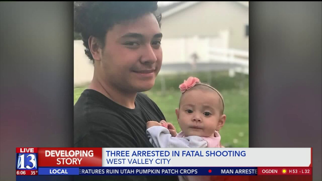 Police make three arrests in connection with fatal shooting of West Valley City man