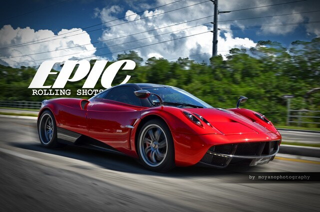 Exotic Pagani is sexy, sleek and super fast