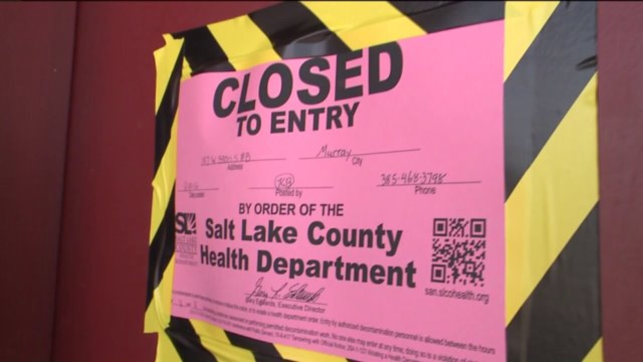 Tenants in Murray furious after health department closes four units due tometh