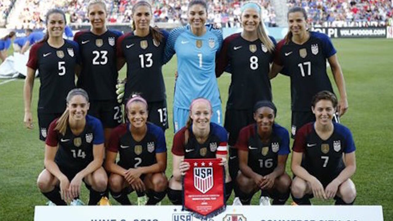 Judge: USWNT cannot strike