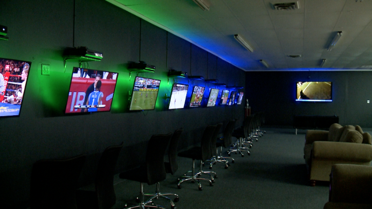 Blue Magic Gaming Lounge hopes to help competitive gamers turn controllers into cash