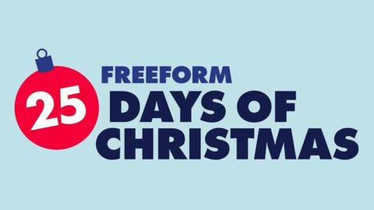Freeform kicks off holiday season early with two full months of Christmas movies