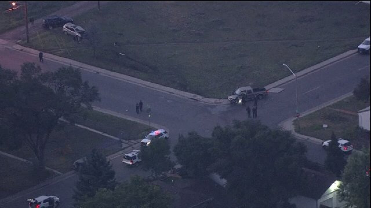 Denver police responding to multi-vehicle crash