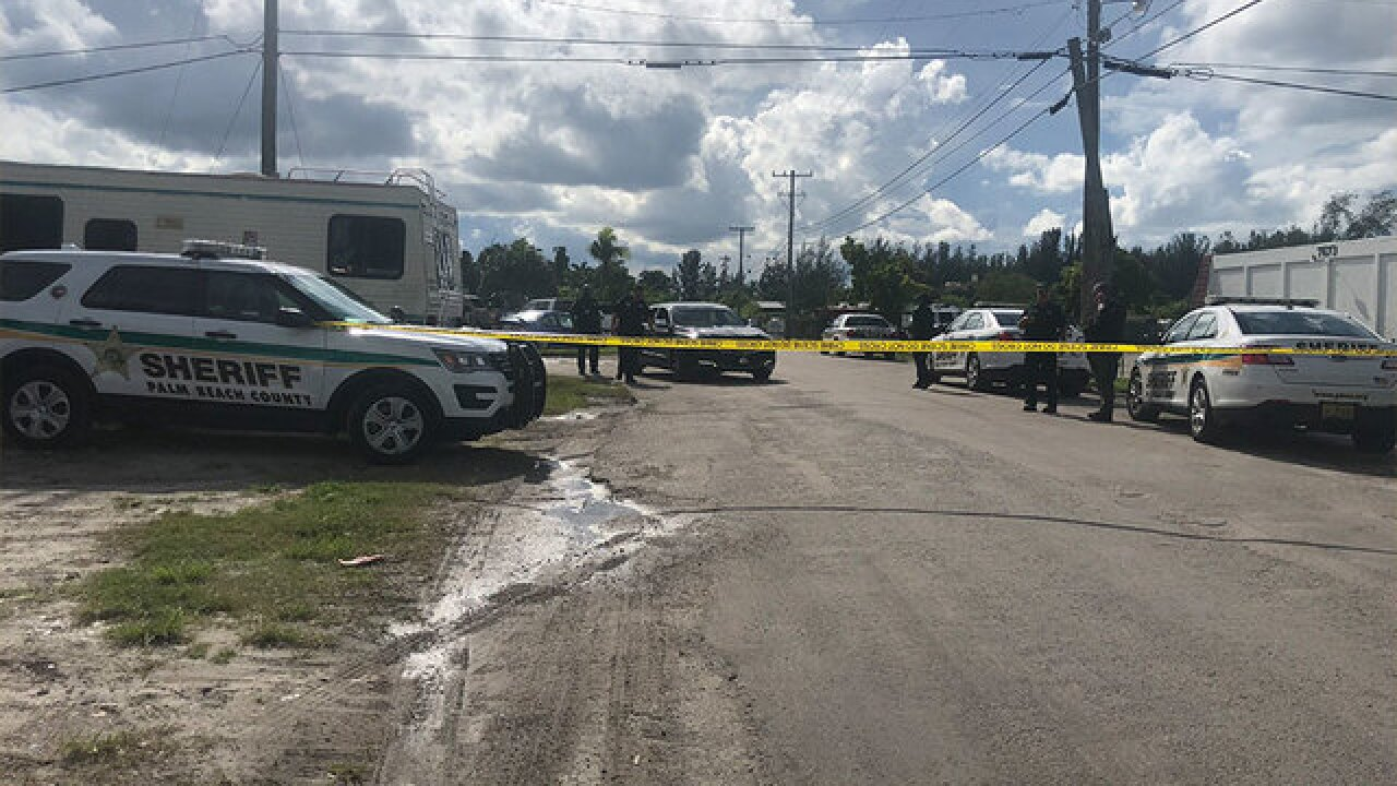 PBSO investigating a shooting in West Palm Beach