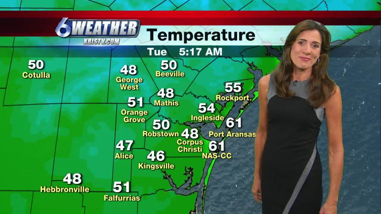 Election Day brings cool morning followed by sunny afternoon