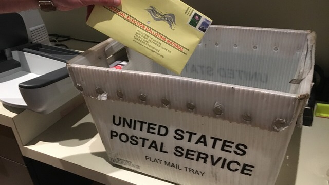 Onslaught of mail-in ballots at County Registrar