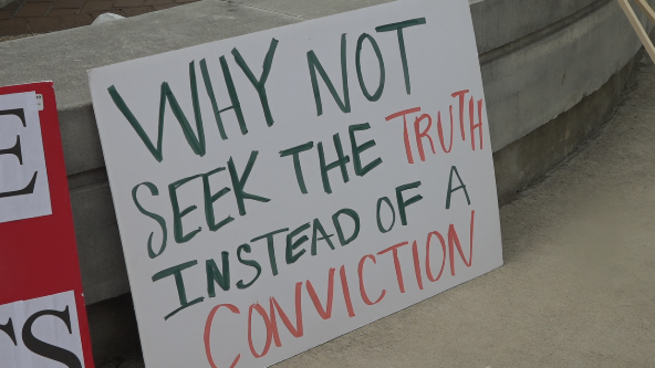 Advocacy group speaks out against wrongful convictions