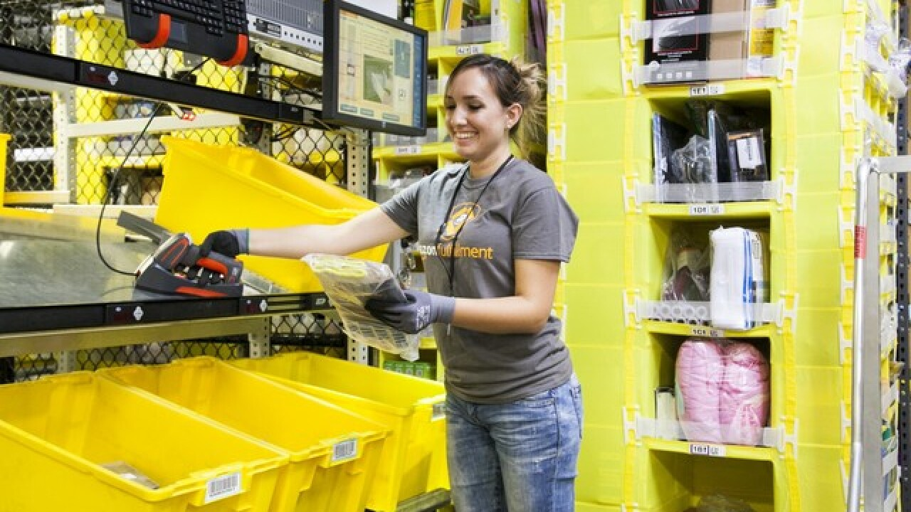 Amazon has 120,000 seasonal job openings