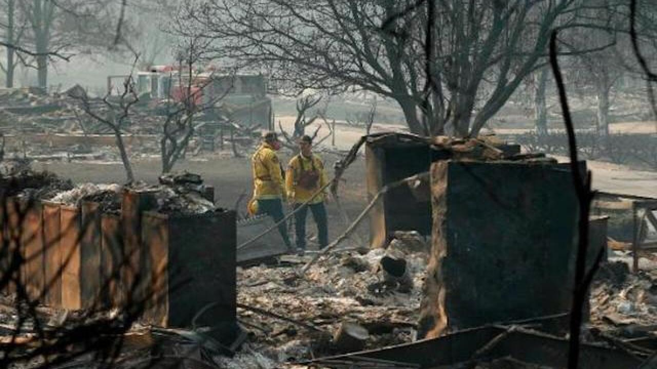 Rain in wildfire-scarred Northern California will end fire threat, bring new ones