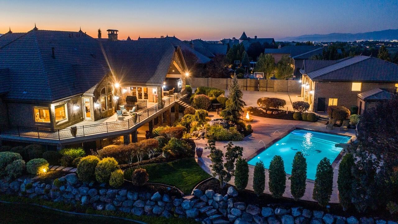 Jerry Sloan's Riverton Estate, 13103 Riverbendview Cove, Riverton, UT