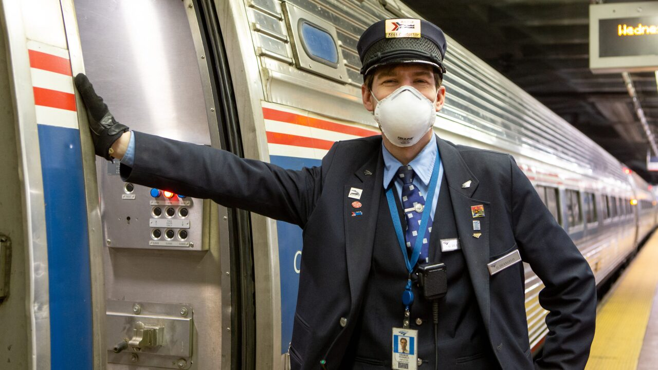 Amtrak will require passengers to wear face coverings starting May 11