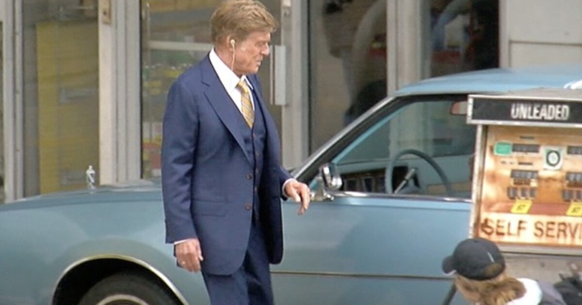 The Old Man and the Gun' brings Robert Redford, Sissy Spacek