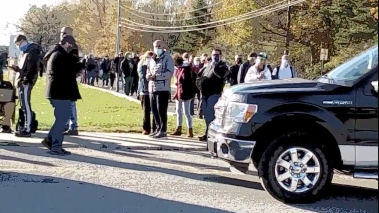 Seven Hills police on alert during Presidential vote count, respond to polling place disturbance