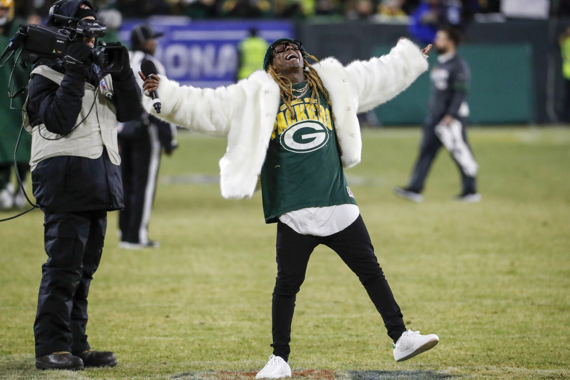 Seahawks Packers Football Lil Wayne