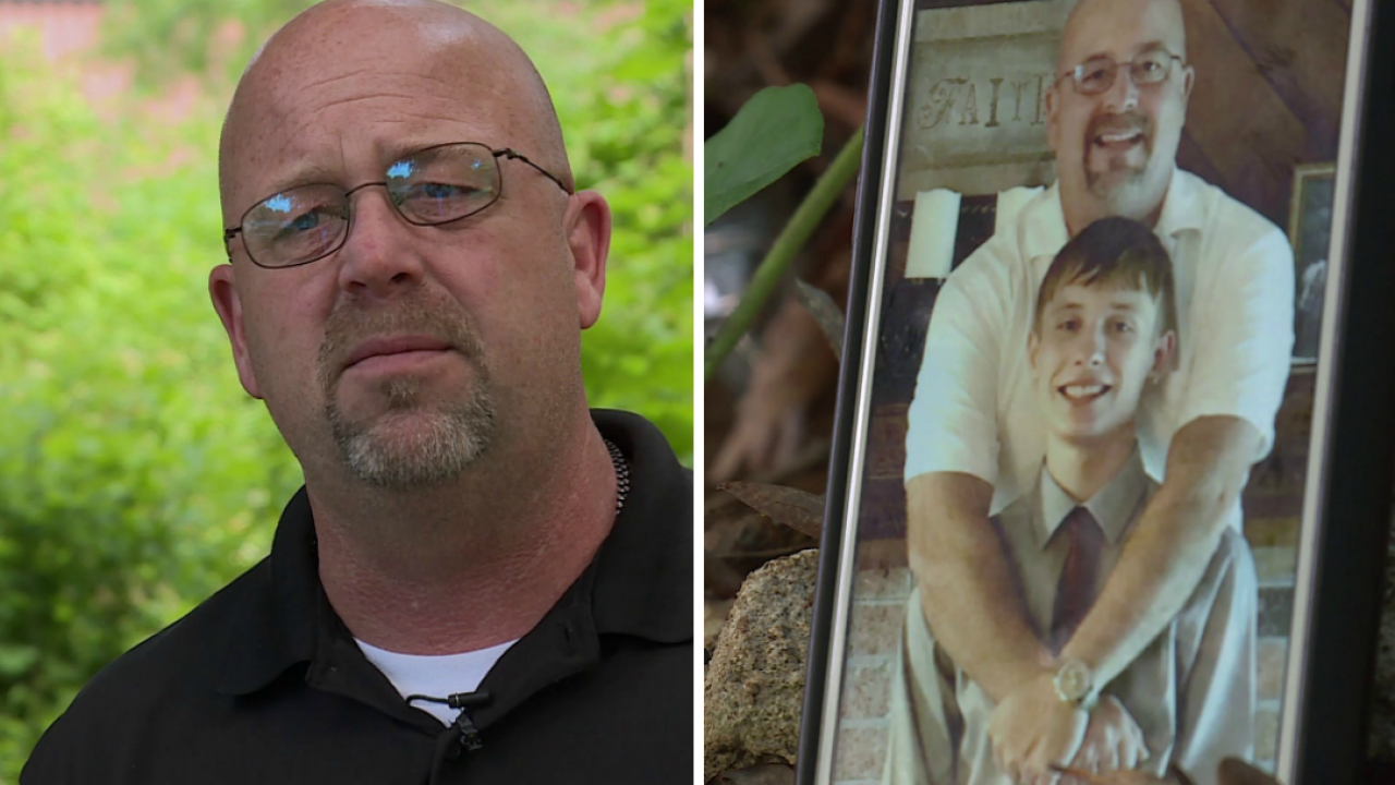 Father searches for son's killer: 'I lost my son. I lost my best friend'
