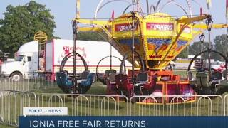 Ionia Free Fair returns after COVID canceled the event last year