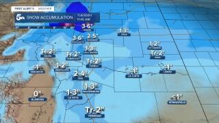 Southern Colorado Snow Forecast