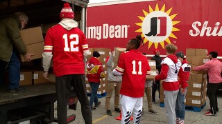 Chiefs Food Giveaway