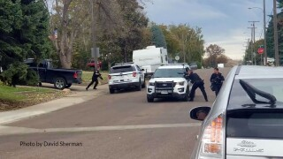 GFPD standoff with armed man (October 7, 2019)
