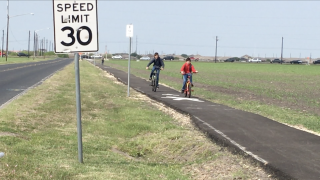 City builds sidewalk after KRIS 6 exposed unsafe road for kids