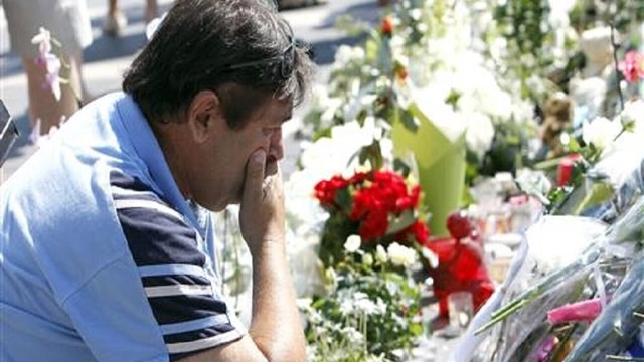 Truck attack toll in Nice hits 85 as hospitalized man dies