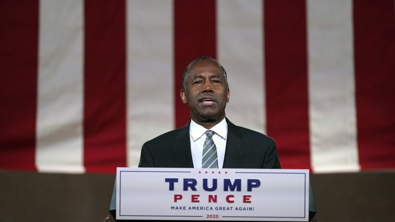 Breaking GOP silence over shooting, Ben Carson offers condolences to Jacob Blake's family
