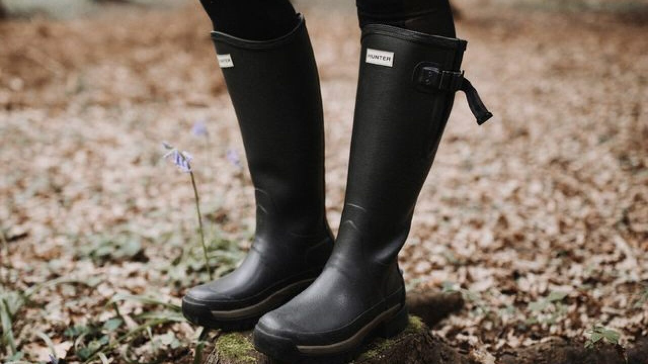 Fall staple: Select pairs of Hunter boots are up to 50% off