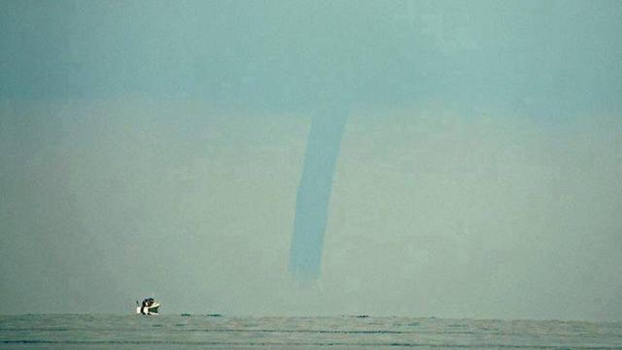 Waterspouts likely on Lake Erie this weekend