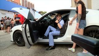 Gavin Ward Hamilton car show fundraiser
