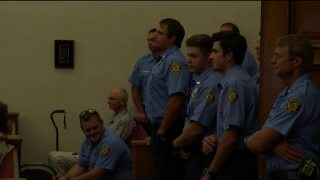 9 firefighters welcomed to Helena Fire Department