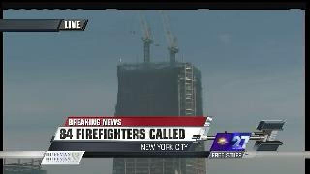 Update: Officials say fire was 'false alarm' on 88th floor of 1 WTC