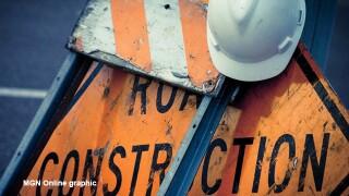 Glenrose Avenue will be closed for water main repair work