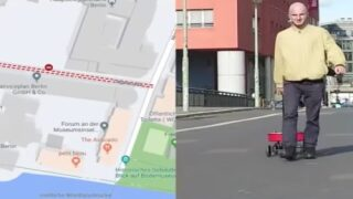 An Artist Pulled 99 Phones Around In A Wagon To Create Fake Traffic Jams On Google Maps