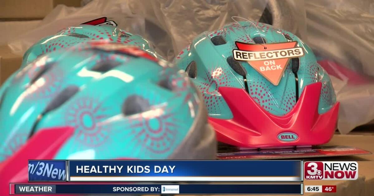 Healthy Kids Day keeps kids in shape