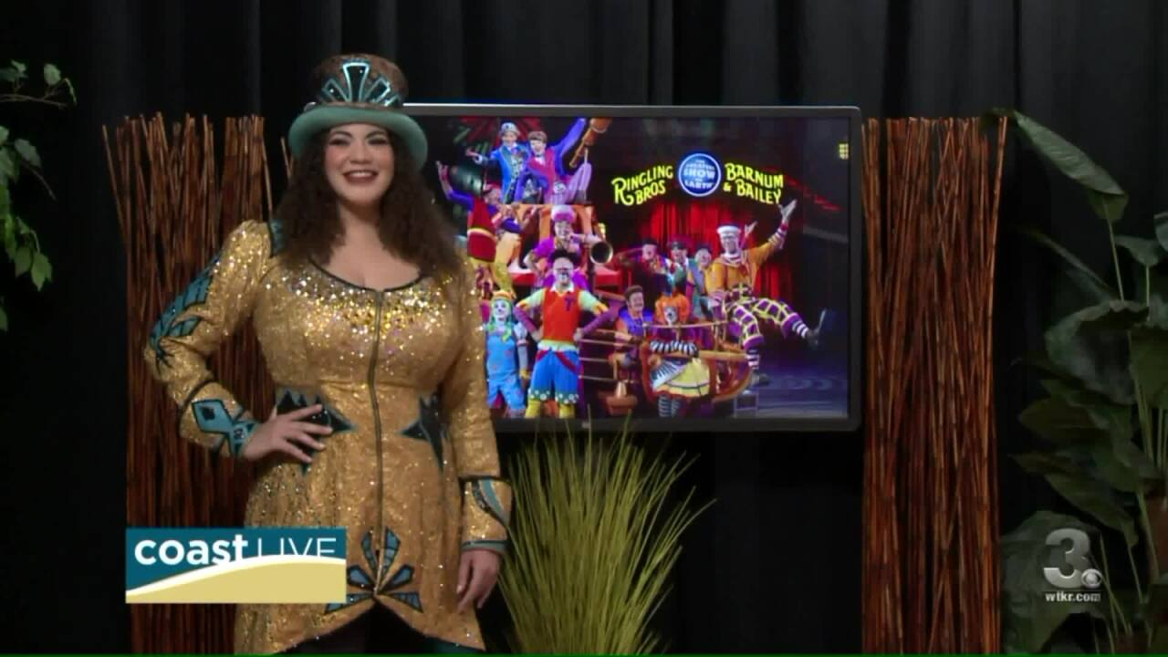 The history-making ringmaster for the Greatest Show on Earth joins us on CoastLive