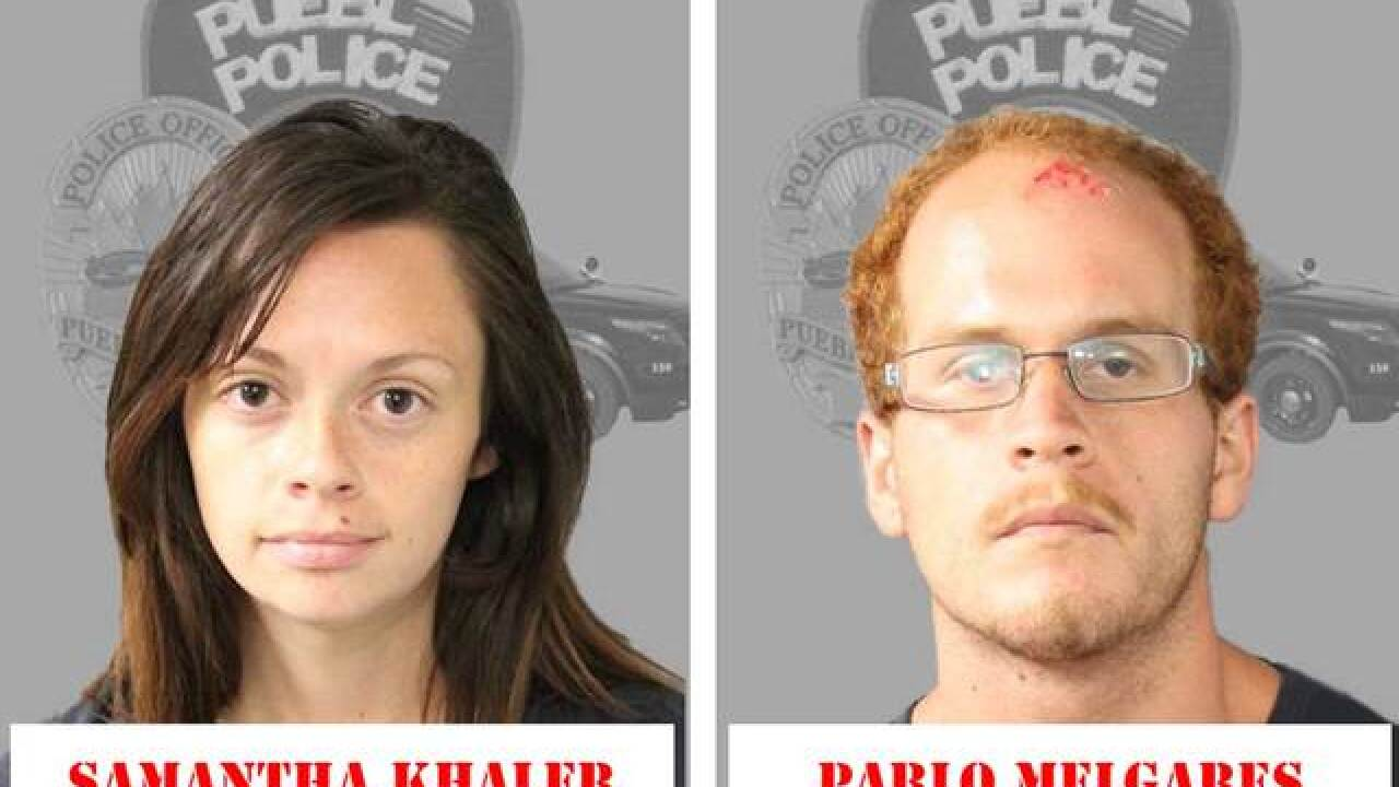 Mom & her boyfriend arrested in child abuse case in Pueblo, police say