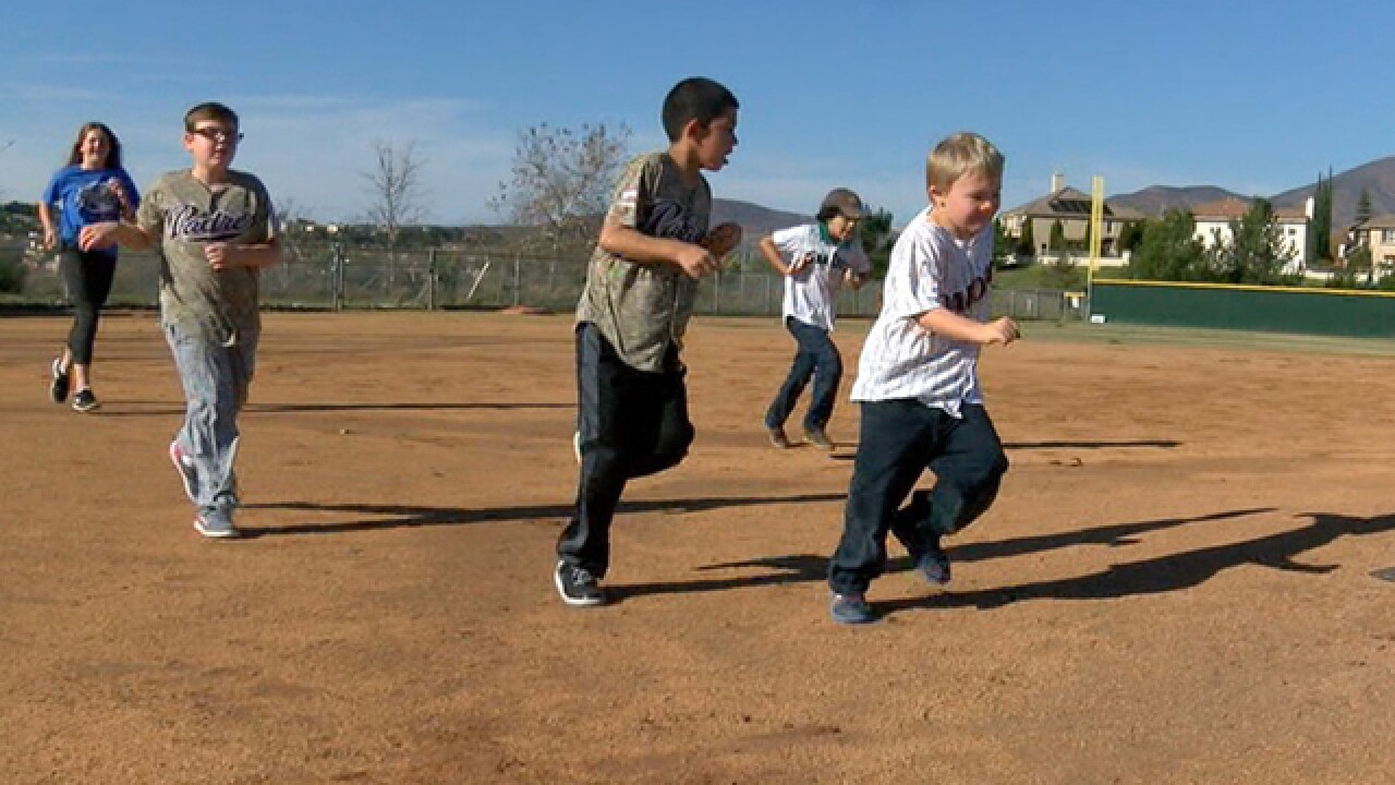 Parents raising funds for special baseball field