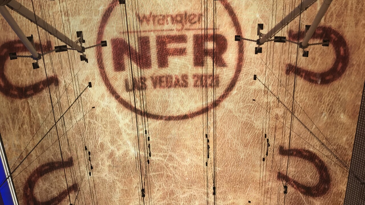 Several Professional Rodeo Cowboy Association 2020 World Champions appeared on Fremont Street for a welcome back to Las Vegas celebration for the return of the Wrangler National Finals Rodeo.