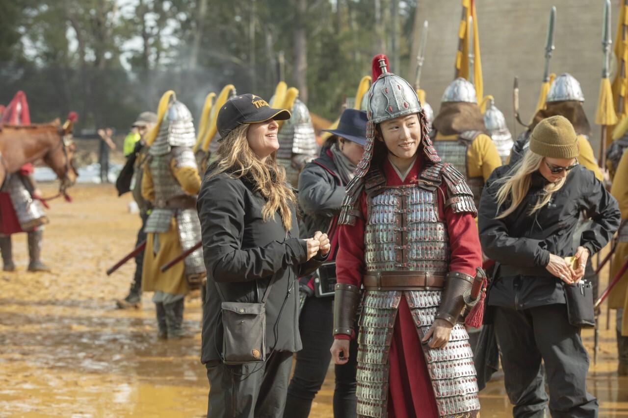 'Mulan' star Yifei Liu and director Niki Caro