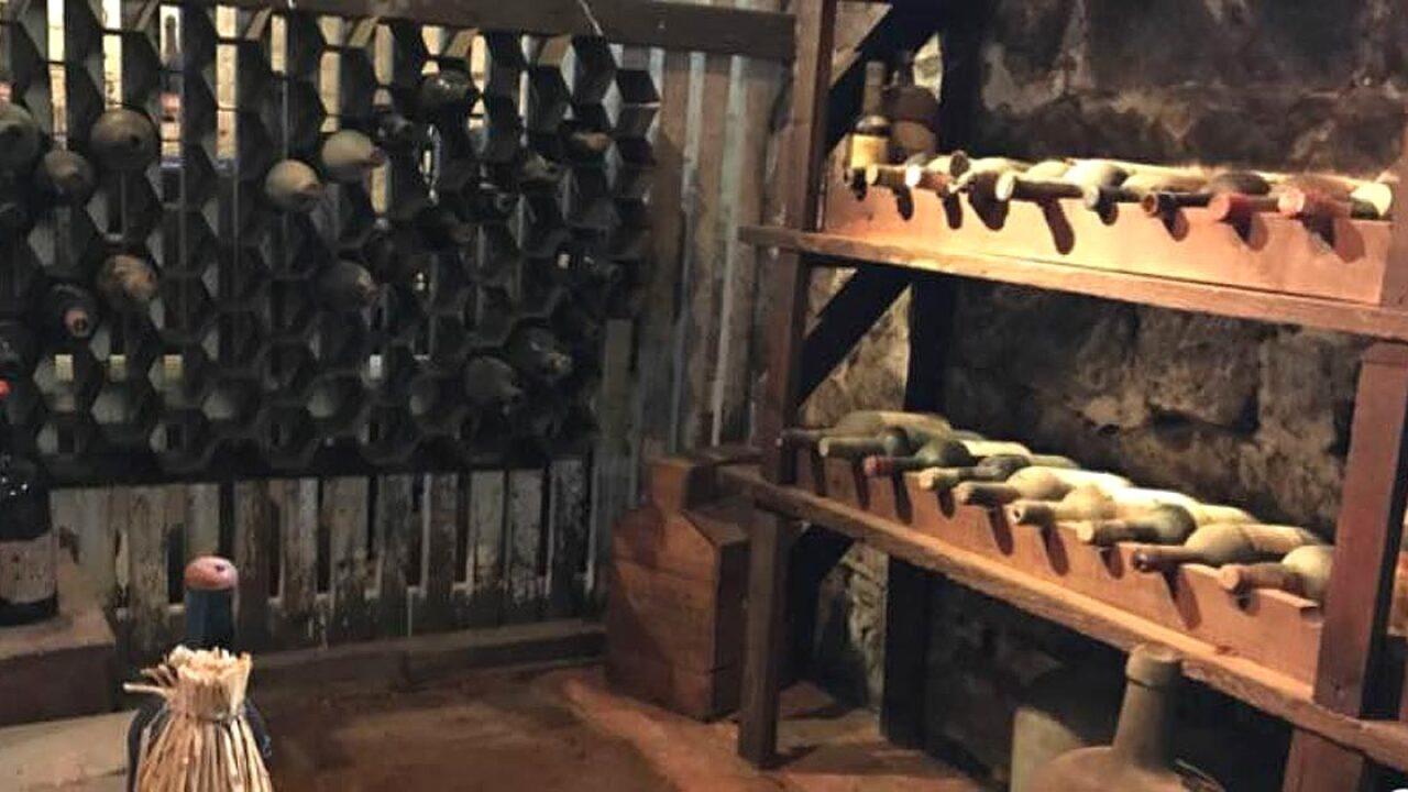 Centuries-old wine collection found hidden in New Jerseycellar