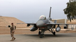 4 Iraqi servicemen wounded by rocket attack on air base