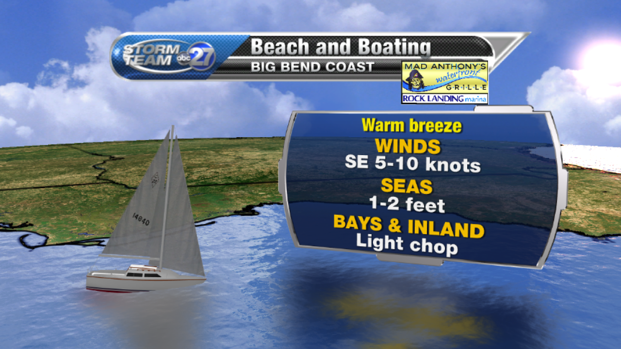 Beach and Boating forecast A (04/18/2017)