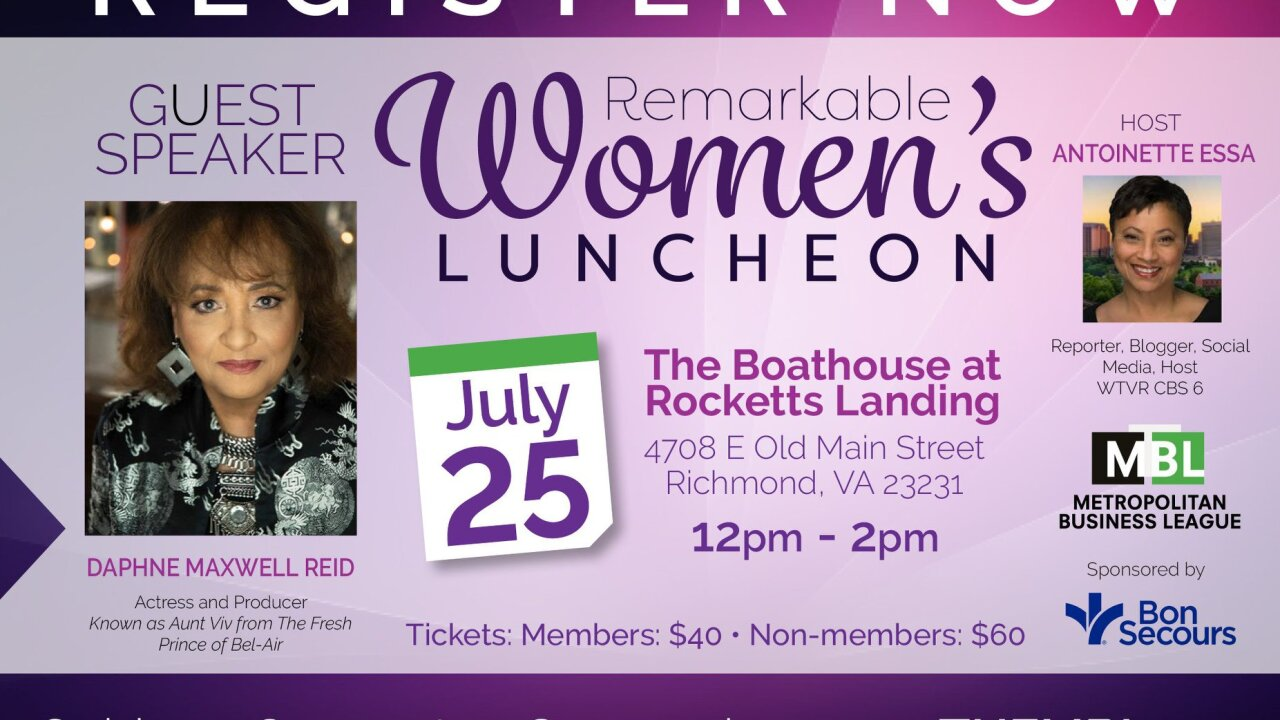MBL's Remarkable Women's Luncheon
