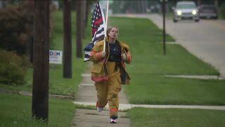 Brunswick teen runs for 9/11