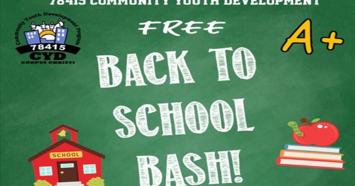 Community Youth Development Back to School Bash on Saturday