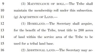 Little Shell Tribe moves closer to federal recognition