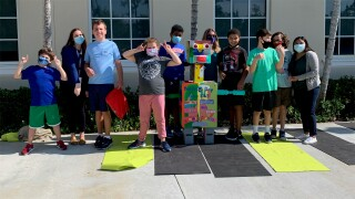 Autism awareness parade held at L Center of Excellence